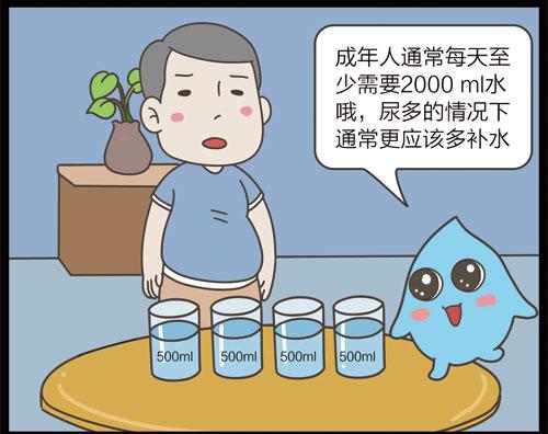 掌控糖尿病漫画-饮食篇喝水和多尿有关8