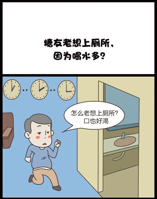 掌控糖尿病漫画-饮食篇喝水和多尿有关1