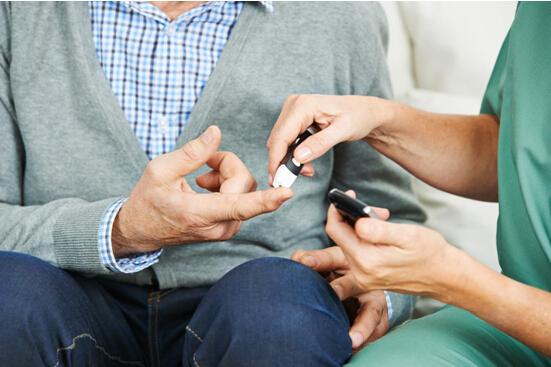 掌控糖尿病-测血糖预防高血糖配图